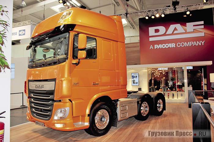 DAF XF115.510 Super Space Cab Euro 6 6x2