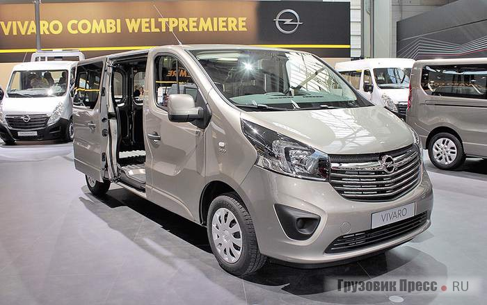 Opel Vivaro Combi windows van