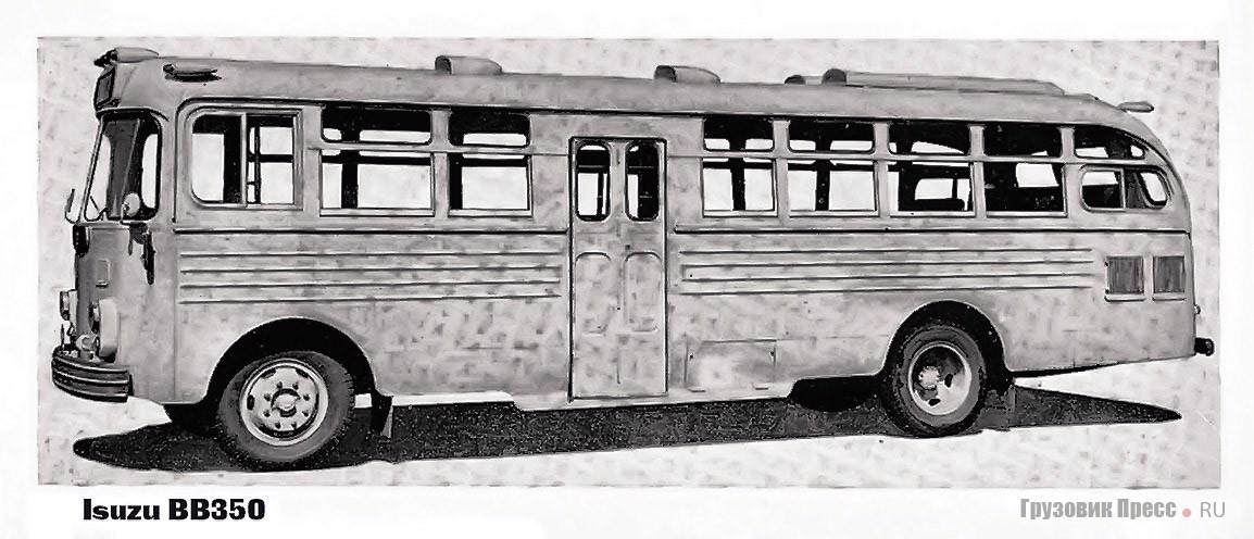Программа автобусов Isuzu конца 1960-х годов