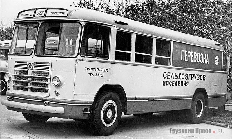 Переоборудованный грузовой ЗИЛ-158 для «Трансагентства». 1971 г.