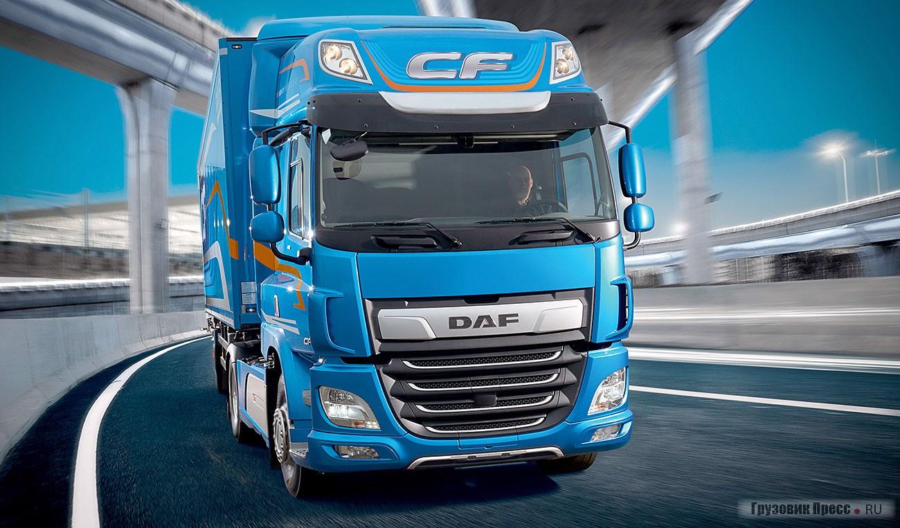 Новый DAF серии CF