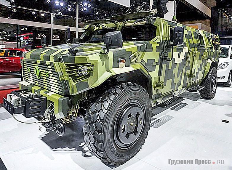 DFM Mengshi CSK181 10 – конкурент российскому «Тигру»