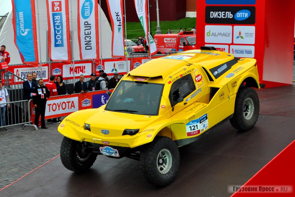 Geely Smg Buggy команды GEELY AUTO COOPERTIRES TEAM
