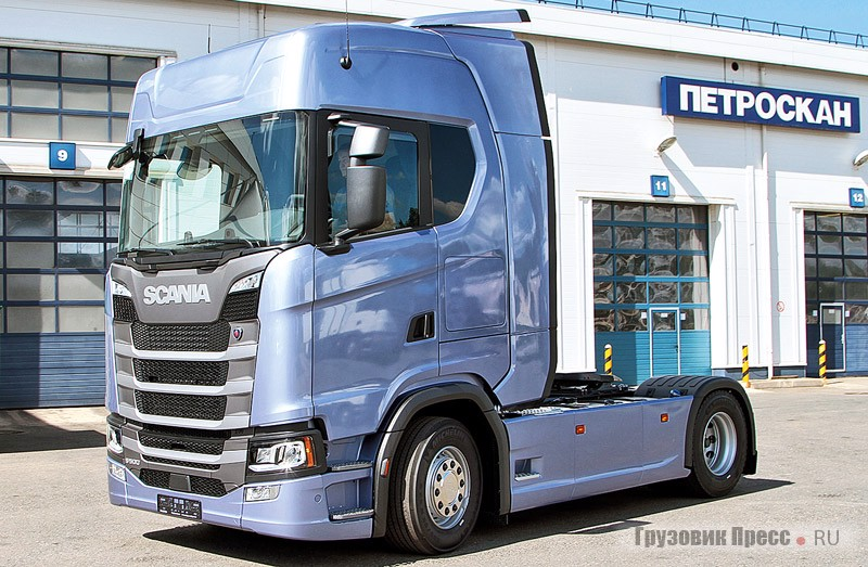 Scania S500 A4x2NВ Fiction Blue
