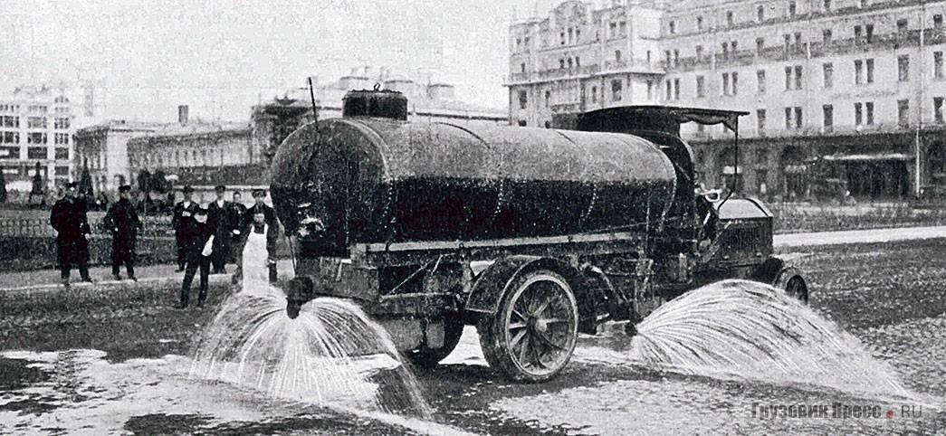 Московская поливальная машина Daimler-Marienfelde DM4a, № 1547