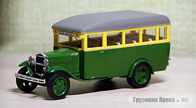 Масштабная модель ГАЗ 03-30 займёт достойное место в коллекции советских автобусов