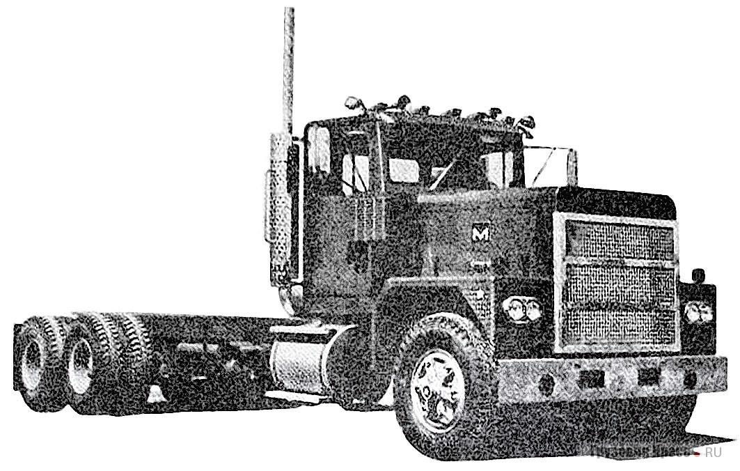 Шасси Marmon BCHDT-BC с алюминиевым оперением для тяжёлых условий эксплуатации. 1978 г.