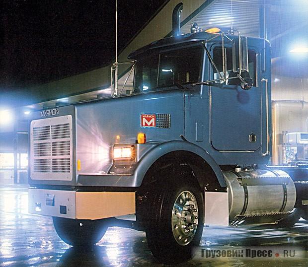 Marmon SB57L со смещённой назад передней осью. 1990 г.