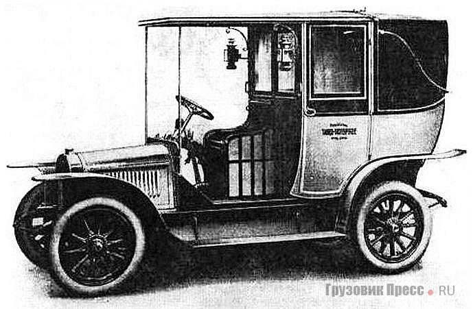 Петербургскиe таксомоторы 1911–1914 гг. – австрийский Laurin-Klement