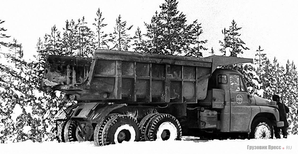 Первые самосвалы Tatra 148S1 в условиях советского Севера, начало 1970-х