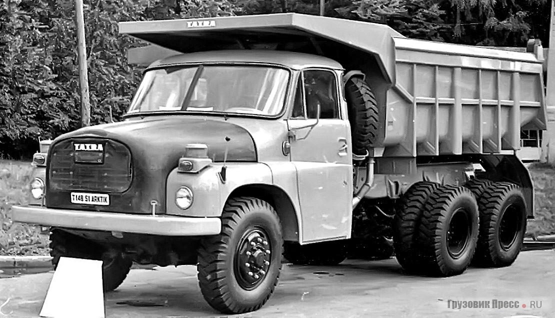 Выставочный образец специально разработанной для СССР модификации– Tatra 148S1 Arktik. Москва, Сокольники, лето 1976 г.