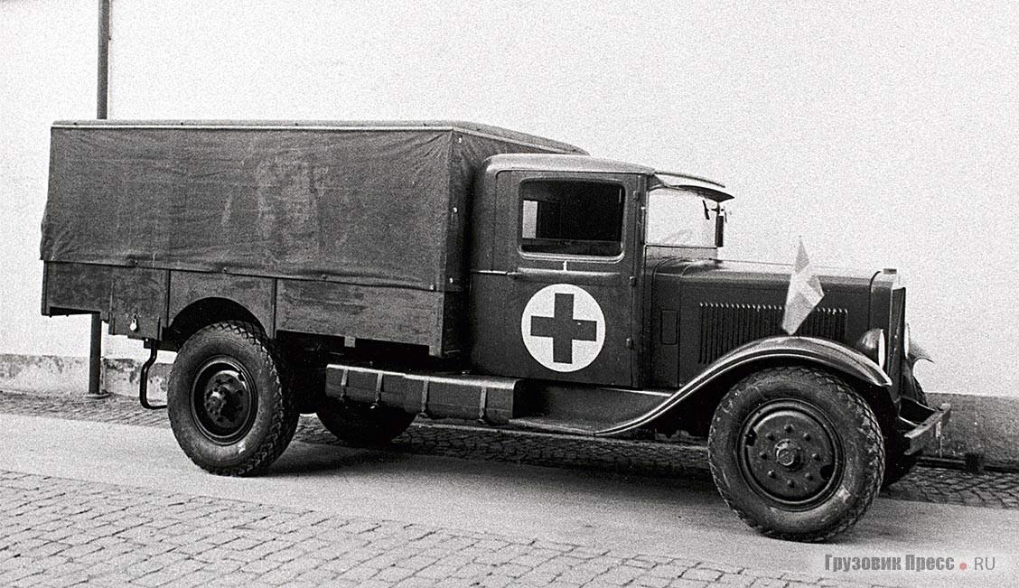 Первую трёхтонку модели Volvo LV66 оснащали как бензиновым, так и многотопливным двигателем конструкции Йонаса Хессельмана. 1931 г.