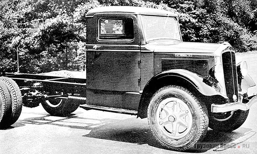 White 712 грузоподъёмностью 3–4 т. 1934 г.