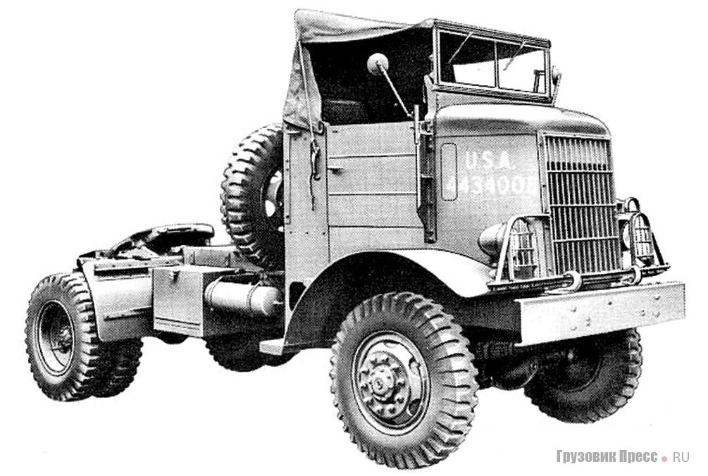 White 444T – военный полноприводный седельный тягач класса 4–5 т. 1944 г.