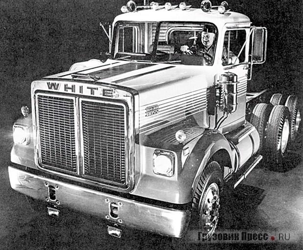 Седельный тягач White серии Road Boss (6х4). 1973 г.