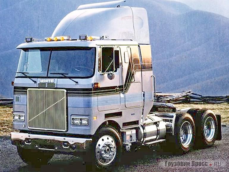 Седельный тягач White WHL-64T (6х4) серии High Cabover. 1984 г.