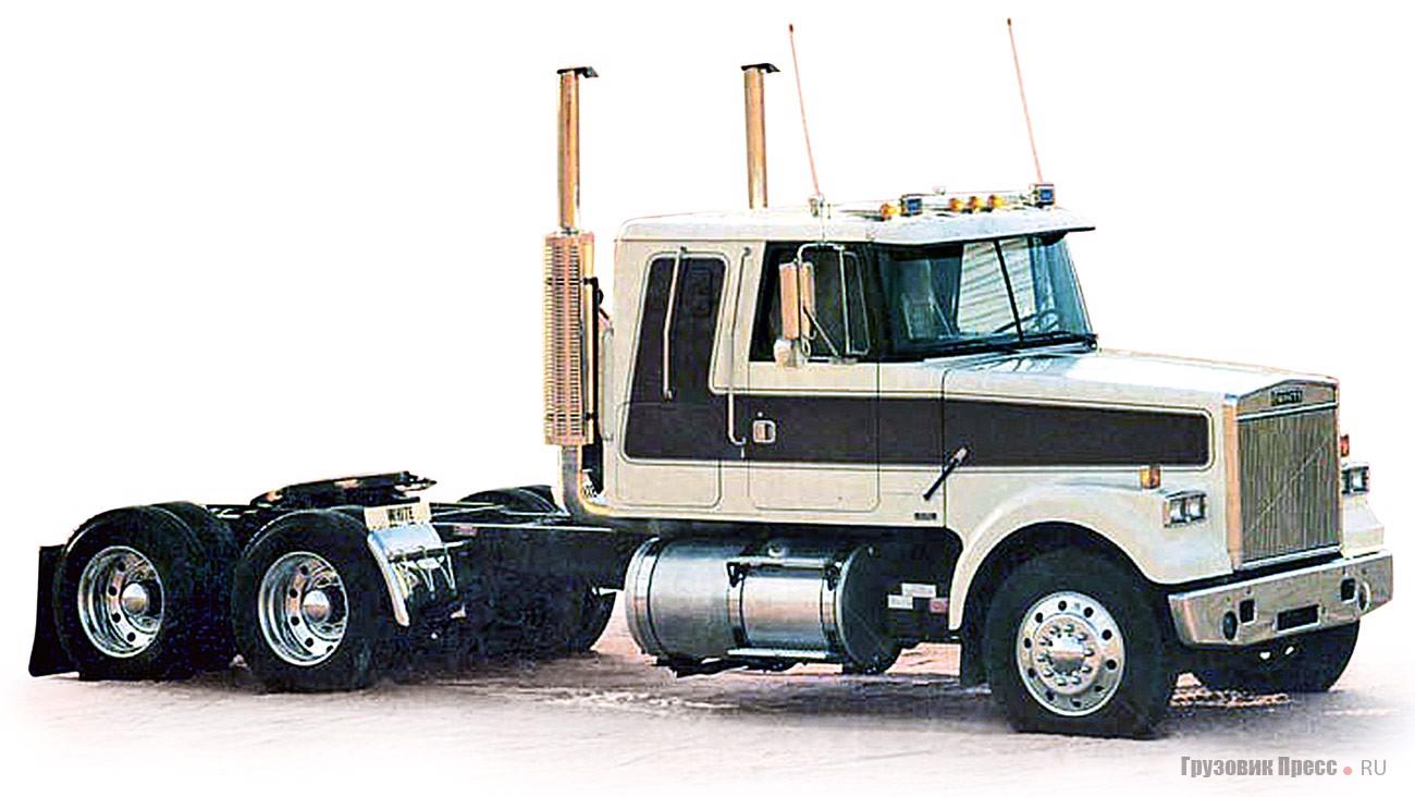 Седельный тягач White WIL-64T (6х4) серии Integral Sleeper. 1984 г.
