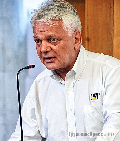 Бывший генеральный директор компании «Новотрак» Алексей Черепков, ныне работающий в московском представительстве компании Caterpillar