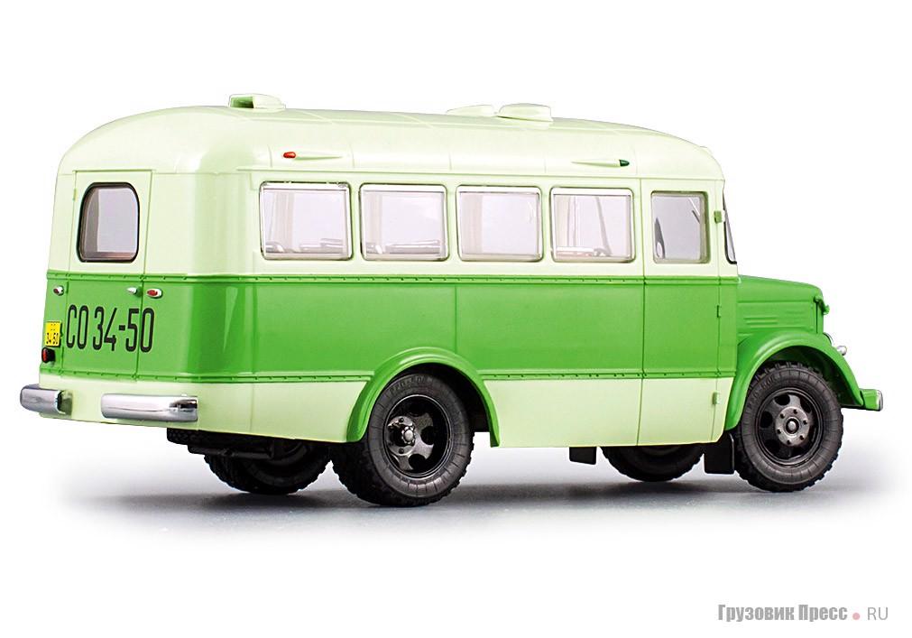 Второй вариант окраски ПАЗ-651А