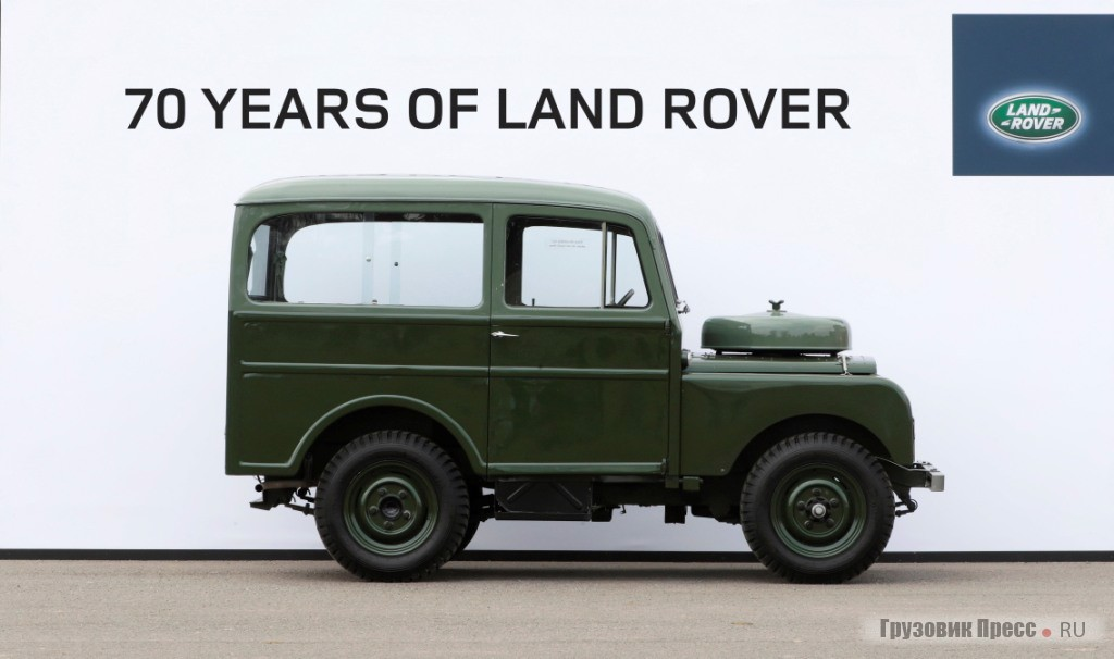 Универсал «ТИКФОРД» на базе LAND ROVER series I