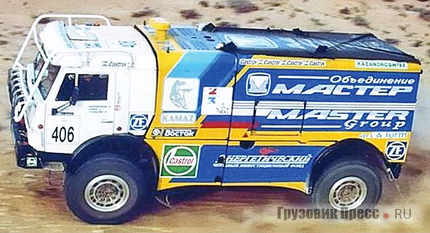 КамАЗ-49250,  1994 г.