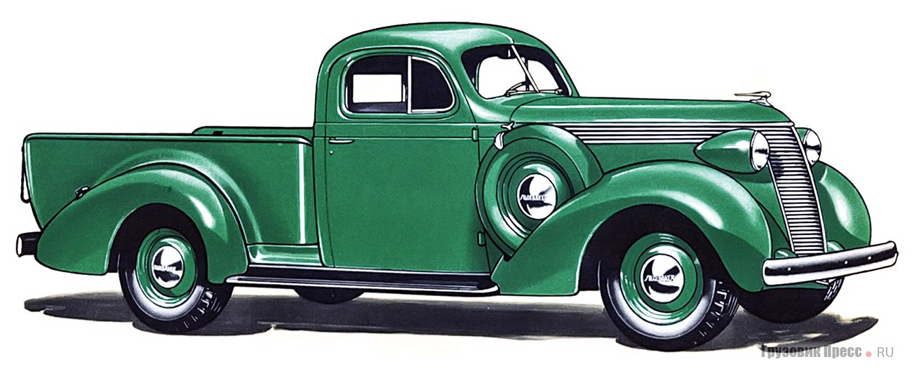 Studebaker J5 Coupe-Express, 1937 г.