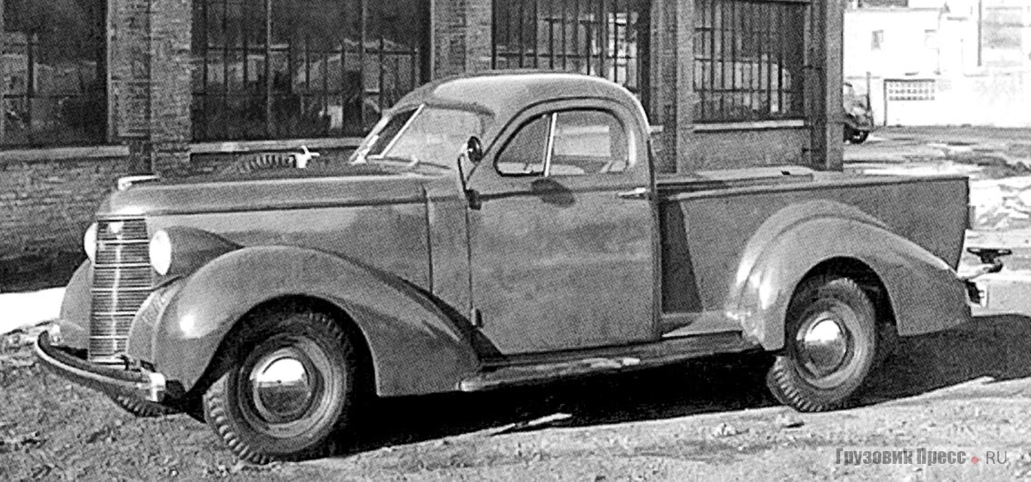 Studebaker K-5 Coupe-Express, 1937–1938 гг.
