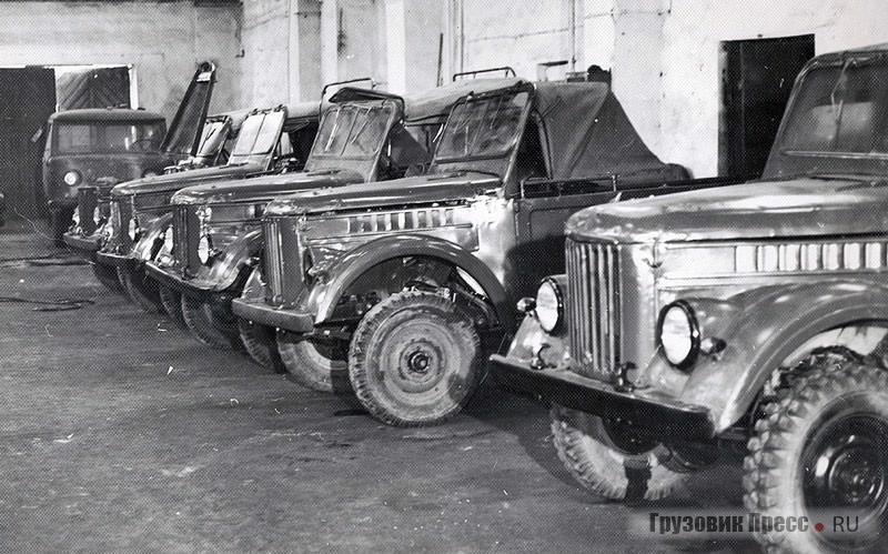 Автомобили ГАЗ-69, прошедшие ремонт
