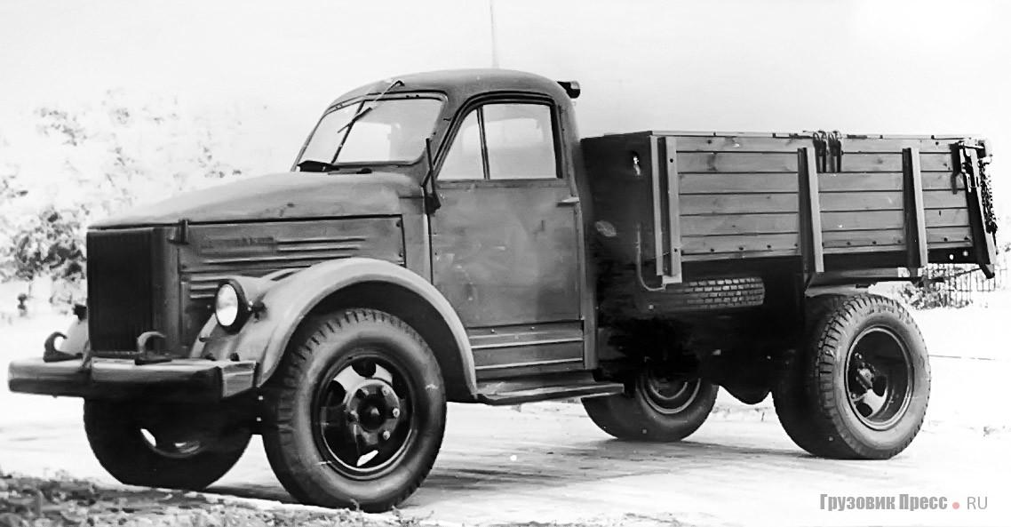 Самосвал ГАЗ-93Д с деревянно-металлическим кузовом