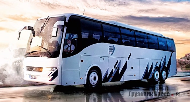 Volvo 9700HD 6×2 Ocean Race