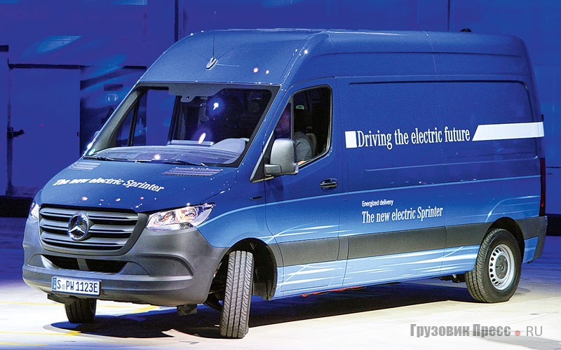 Электромобиль Mercedes-Benz Sprinter