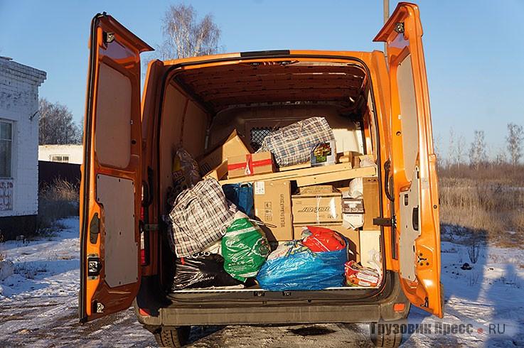 Использование по назначению – доставка «гуманитарки» в детский дом в Дивеево
