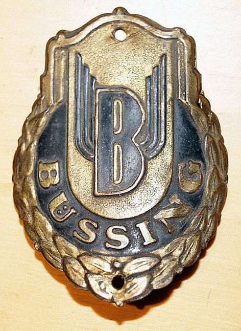 Эмблема велосипеда Büssing