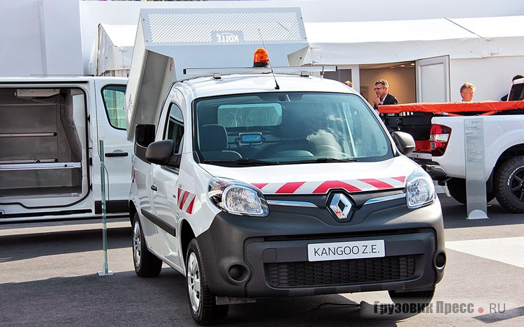 Renault Kangoo Z.E. Pick up Skip Tipper Kolle