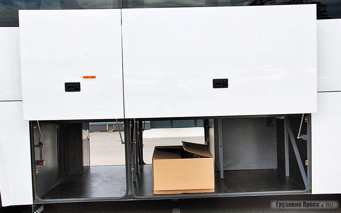 Суммарный объём багажного отделения – 10 м[sup]3[/sup]