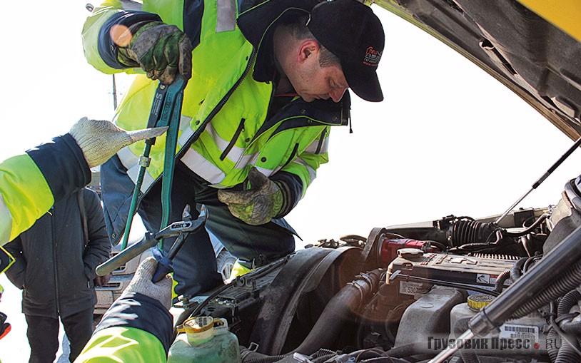 Некоторые задачи по оперативному ремонту решают выездные бригады, но это если вам повезёт