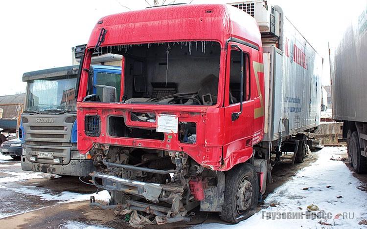 На дороге и в жизни нередко «донорами» становятся неисправные и аварийные грузовики