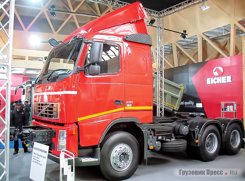 Volvo FH 520  Powertronic Tractor