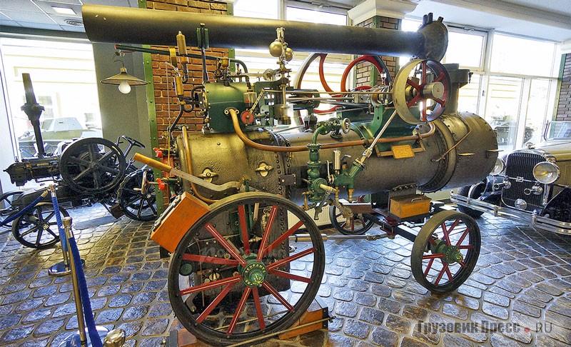 Классика парового локомобиля (Музей техники В. Задорожного, Подмосковье)