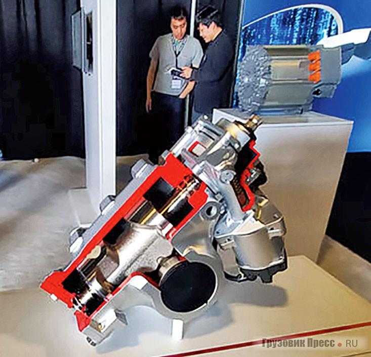 Сервопривод рулевой оси Bosch для Nikola Two