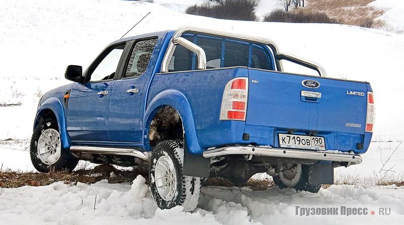 Тест-драйв пикапа Ford Ranger Auto UMFE10 (2AW-8F1-7), журнал «Грузовик Пресс»