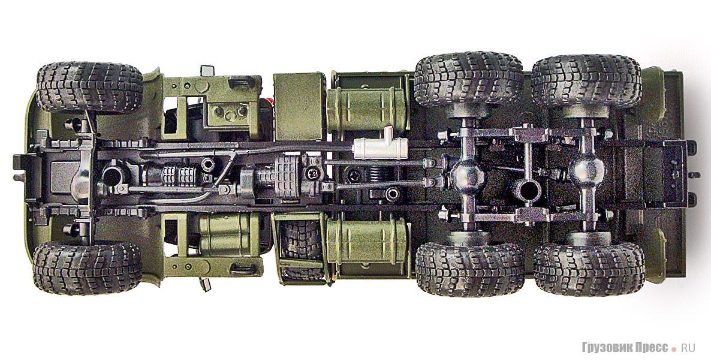 Исходный вариант 3D-модели с зауженной кабиной