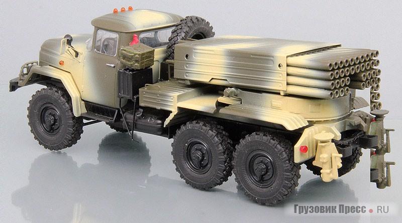 Реактивная система залпового огня 9К55 «Град-1» на шасси ЗИЛ-131