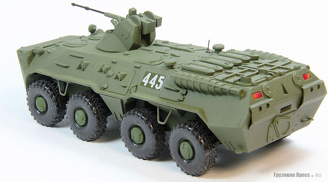 БТР-80А с башней БППУ-1