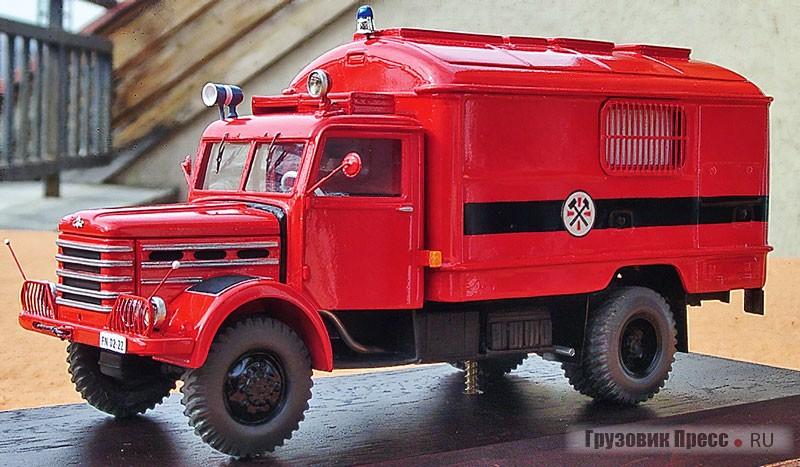 Пожарный Csepel 344