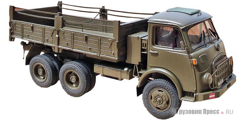 Военный бортовой грузовик Steyr 680