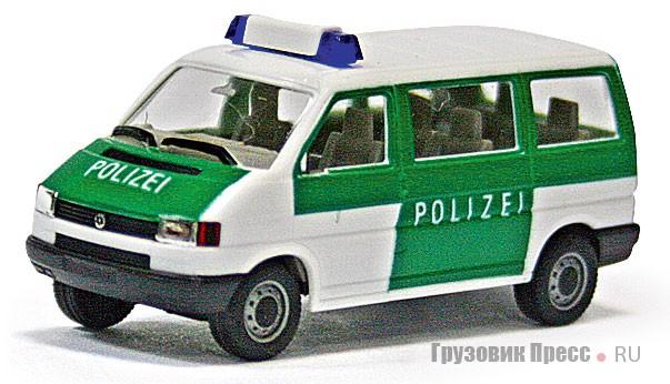 [b]Volkswagen Transporter T4[/b] полиции Германии компания Herpa (#041874) воспроизводит в разных вариантах