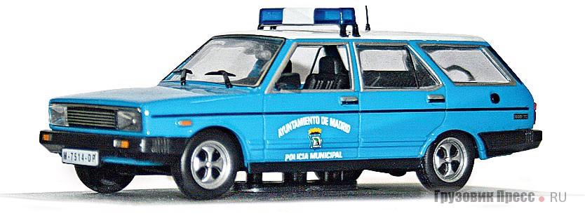 [b]Seat 131 Panorama Super Policia Municipal Ayuntamiento de Madrid 1980[/b] португальской фирмы Altaya (дочернее предприятие IXO Models)