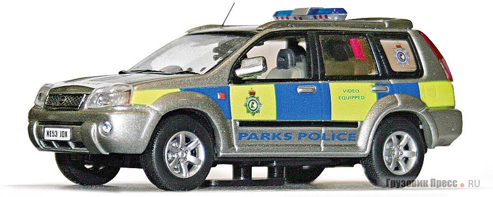 Внедорожник [b]Nissan X-Trail Kensington Police[/b] делает японская компания J-Collection (#JC067). Розничная цена в России – от 950 до 1200 руб.