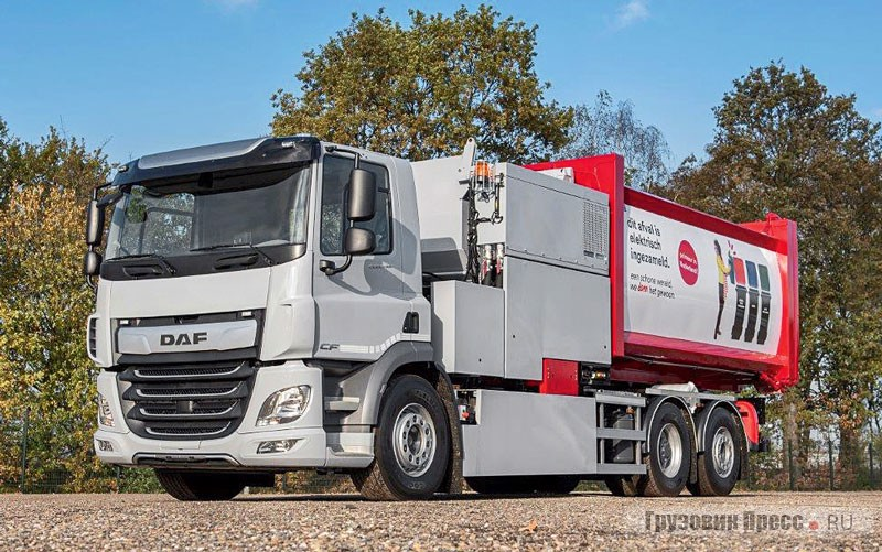 DAF CF Electric 6x2 VDL E-Power